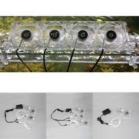 Cold Wind Chiller Fish Tank Water Aquarium Cooling Fan Silent Adjustable FS New