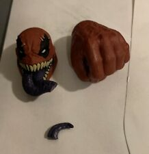 Marvel Legends Venompool Head cut tongue and left closed hand fist