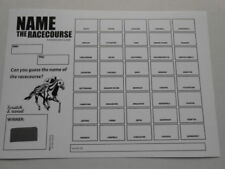 Race Cards