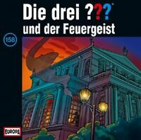 DIE DREI ??? - 158/UND DER FEUERGEIST  CD  13 TRACKS KINDERHÖRSPIEL  NEU