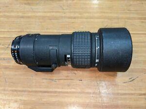Nikon ED AF NIKKOR 300mm 1:4 Lens Japan *For Parts*