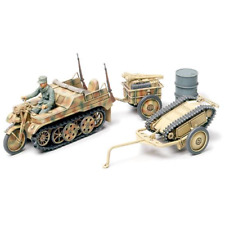 TAMIYA: 1/48; Kettenkrad w/Cart - & Goliath Vehicle