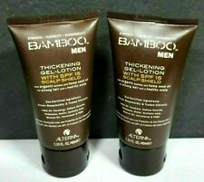 ALTERNA BAMBOO MEN THICKENING GEL-LOTION 1.35 oz SEALED (2 TUBS)