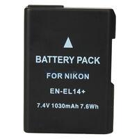 EN-EL14 Battery for Nikon Coolpix P7000 P7100 D5000 D3100 D5100 D3200 Camera