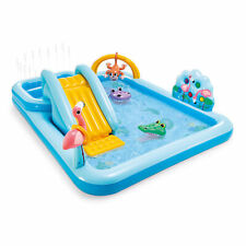 "Intex 96"" x 78"" x 28"" Inflatable Jungle Adventure Play Spray Pool (Open Box)"