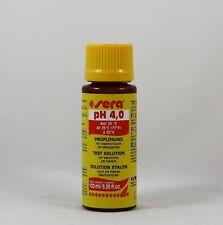 Sera pH 4,0 Prüflösung 100ml für elektronische pH-Messgeräte 6,99€/100ml