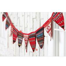 3m Colored Indian Banner Bunting Flags Party Birthday Wedding Decor Ceremony