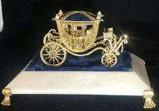 Franklin Mint Igor Carl Faberge Sterling Imperial Wedding Coach