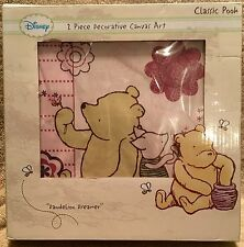 Disney Baby Classic Pooh 2 Piece Decorative Canvas Art Dandelion Dreamer
