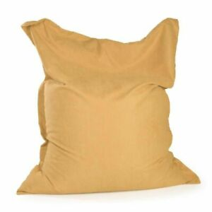 Super Big Size Square Lazy Sofa Bean Bag Covers Puff Couch Without Filler Inner