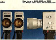 Braun Nizo S480 S560 S800 Super 8 Film Camera - Instructions Manual - PDF File