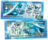 Russia 100 rubles Belka & Strelka The First Dogs in Space Polymeric