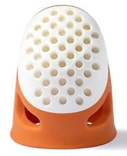 PRYM Ergonomic Thimble Exceptionally Comfortable Functional Thimble ORANGE Small