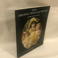 Making Original Dolls and Molds by Mildred & Vernon Seeley - 1977 - P/B - G/Vgc