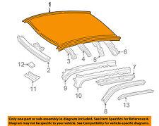 TOYOTA OEM 99-03 Solara-Roof Panel 6311106260