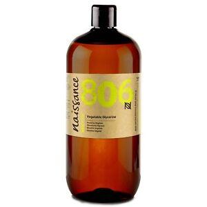 Naissance Pflanzliches Glycerin / Glyzerin - 1 Liter (1000ml) - Pharmaqualität