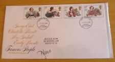 FDC (First Day Cover) Signed  P D James, author