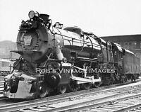 Pennsylvania Railroad Photo PRR 1361 4-6-2 K-4 Steam Locomotive Art Deco Train