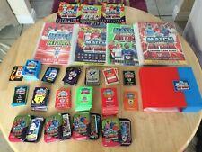 Huge Match Attax bundle cards,sets,folders etc