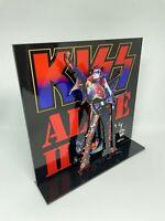 """Kiss Alive II Gene Simmons 3D album display 8"""" standee vinyl holder (figure)"""