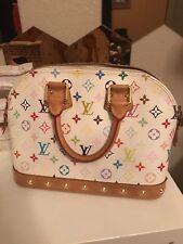 authentic Louis Vuitton handbag Alma RC1111 Multicolor