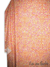 Foulard Tela Mosaico Naranja 280x100 NUEVO