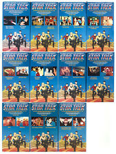 STAR TREK ANIMATED SERIES VHS TAPES
