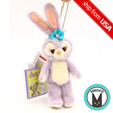 "Japan Tokyo Disney Sea 7"" StellaLou Plush Phone Charm Chain Mascot Duffy Friend"