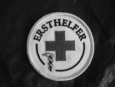 ERSTHELFER  Rundemblem Emblem gestickt Patch Aufnäher NEU