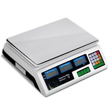 Retail Shop Office Digital Display Weigh Price Total Calculator Computing Scale