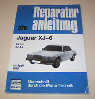 Reparaturanleitung / Handbuch Jaguar XJ-6 / XJ 3.4 / XJ 4.2 - ab Baujahr 1975