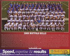 2009 BUFFALO BILLS FOOTBALL NFL 8X10 TEAM PHOTO PICTURE