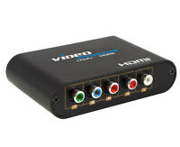 New Component RCA(YPbPr) Video to HDMI 1080P Converter for Wii/PS2/XBOX/STB/DVD