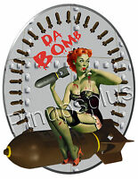 Zombie Pinup Girl Waterslide Decal Sticker for Guitars /& more S834