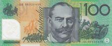 Australia 'Fraser - Evans' Polymer $100 (1996), Uncirculated