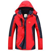 Men's Softshell Jacket Windstopper Keep warm Waterproof Hiking Jackets Outdoor