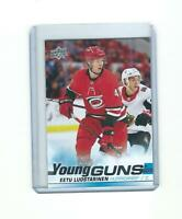 EETU LUOSTARINEN carolina hurricanes YOUNG GUNS rookie card RC