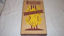 Vintage Domestic Enterprises Roastand Meat Roasting Holder - New In Box