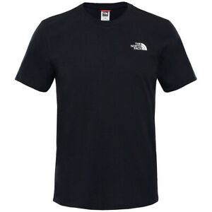 The North Face Mens T Shirt Simple Dome Black Classic Short Sleeved Tee Large