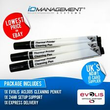 Evolis Cleaning Pen Kit for Zenius Printer • Free UK Delivery