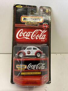 Matchbox Collectables Coca Cola 1962 Vw Beetle 1999