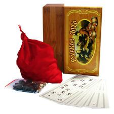 Russisches Lotto BAMBUSBOX Русское лото Gesellschafts Spiel Familienspiel Bingo