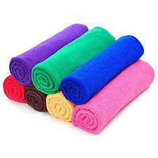 Microfibre Cleaning Cloths Car Care Laundry Wash Wax Clean Polish Craft Catering