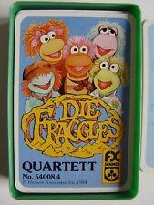 DIE FRAGGLES - SCHMID FX QUARTETT Nr.54008.4 - Vollständig in Großbox von 1984