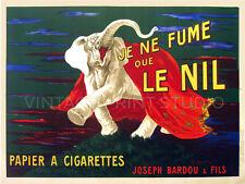 Cigarette Paper 1912, Cappiello Vintage Advertising Canvas Print 21x28