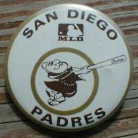 1970 MLB San Diego PADRES Vintage mini PIN gumball Baseball button pinback old 1