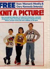 Woman's Weekly knitting pattern, Boys, Girls Sweaters