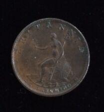George III Uncirculated Farthing Dated 1799