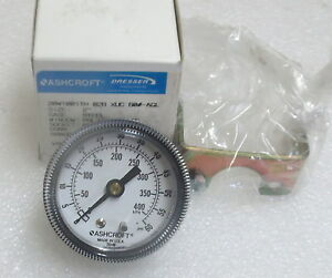 """Ashcroft 2"""" Panel Mount Pressure Gauge  20W1001TH 0-60 PSI  Several Avail New"""