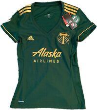 NWT ADIDAS Portland Timbers MLS Soccer Jersey Women's Small